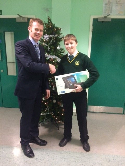 Hardenhuish Pupil Wins State Of The Art Tablet